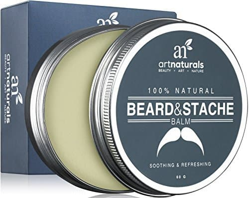Art Naturals Beard & Mustache Balm, Oil, Wax and Leave-In Conditioner