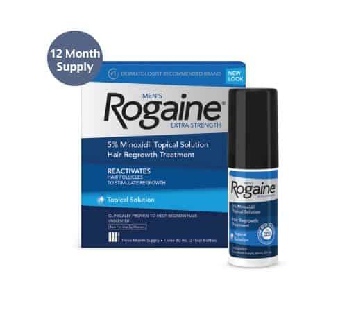 rogaine foam vs liquid effectiveness